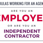 Working for a Doula Agency